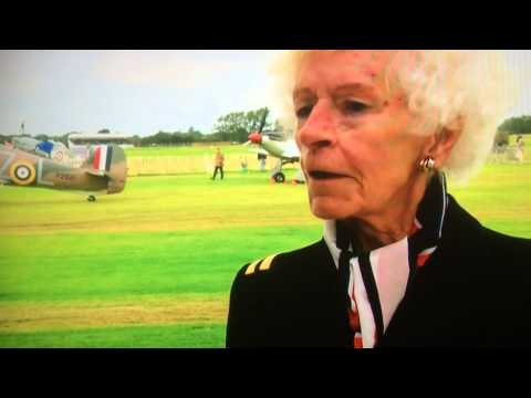 Mary Ellis from Hatfield in the 75th battle of Britain