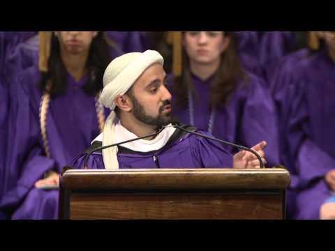 Speech of Imam Khalid Latif when he was given the Alumni Distinguished Service Award at NYU  2014