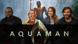 Aquaman EXTENDED Trailer Reaction