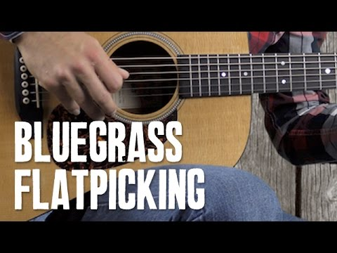 Bluegrass Flatpicking Guitar Solo For Wabash Cannonball Guitar
