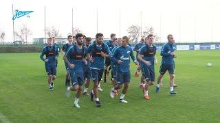 «Зенит-ТВ»: вечерняя тренировка сине-бело-голубых в Дубае