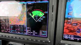 The Piper M600: G3000 Using Color Weather Radar and Nexrad side-by side with Dick Rochfort
