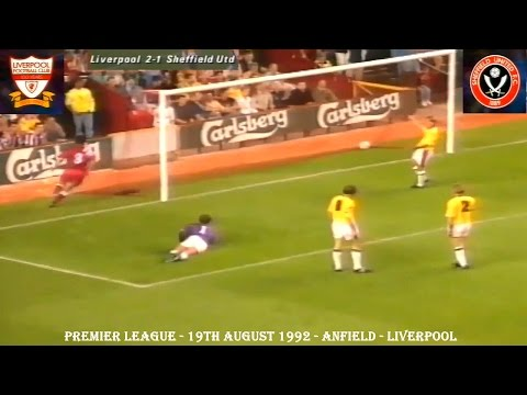 LIVERPOOL FC V SHEFFIELD UNITED FC - 2-1 - 19TH AUGUST 1992 - ANFIELD - LIVERPOOL