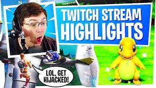 Twitch Stream Fortnite Highlights - The Best of Marksman Funny Moments ep2