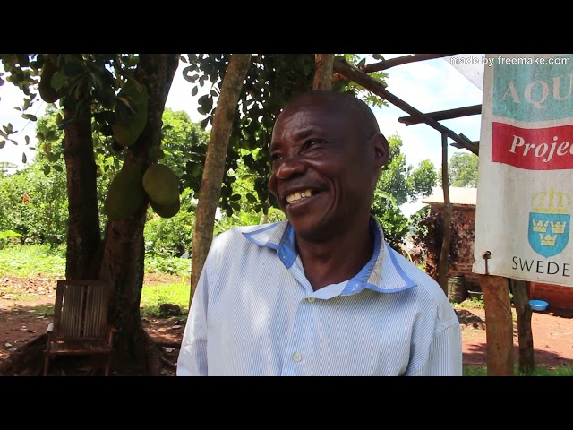 WGI Aquaponics farming beneficiaries' success stories
