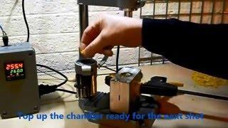 Desktop injection moulding machine, benchtop plastic injection moulding machine UK