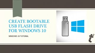 How to Create Windows 10 Bootable USB Drive using Media Creation Tool or DISKPART