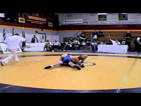 2002 Senior Greco National Championships: 55 kg Guelph vs. Dorel Mogosanu