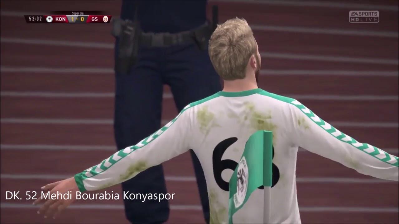 Spor Toto Süper Lig 8. Hafta Atılan Goller