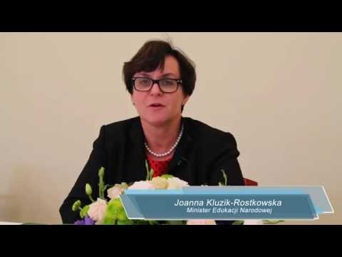 IX Kongres Zarządzania Oświatą - minister Joanna Kluzik Rostkowska