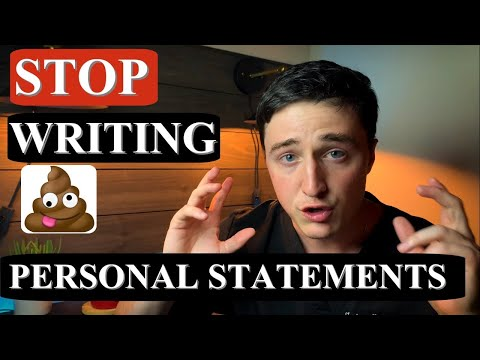 PERSONAL STATEMENT Med School, Residency, College, Fellowship | Writing It Better