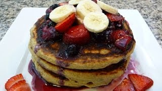 Whole Wheat Pancakes Recipe (how to)