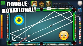 DOUBLE ROTATIONAL BANKSHOT In 8 Ball Pool Has Been Invented...(HISTORICAL)