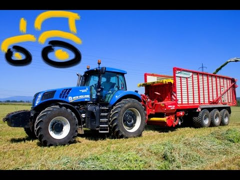 NEW New Holland T8.360 | Pöttinger Jumbo 10010 Combiline | C