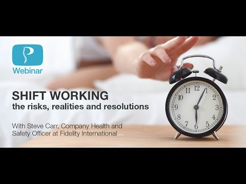 Shift working… the risks, realities and resolutions