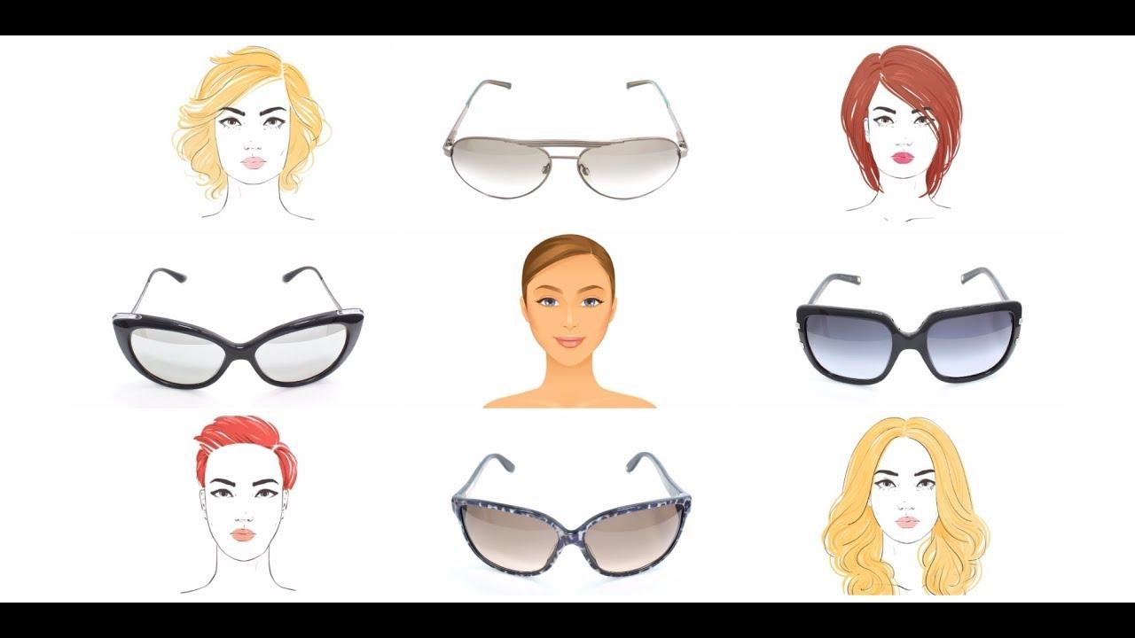 5491adb9d0ae Как подобрать солнцезащитные очки по форме лица - YouTube