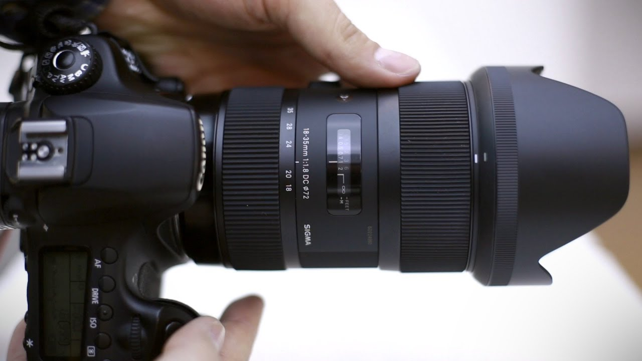 Sigma 18-35mm f/1.8 DC HSM lens full review (with samples) - YouTube