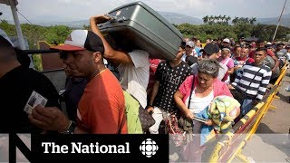 CBC in Colombia: Influx of Venezuelans stretching country's resources