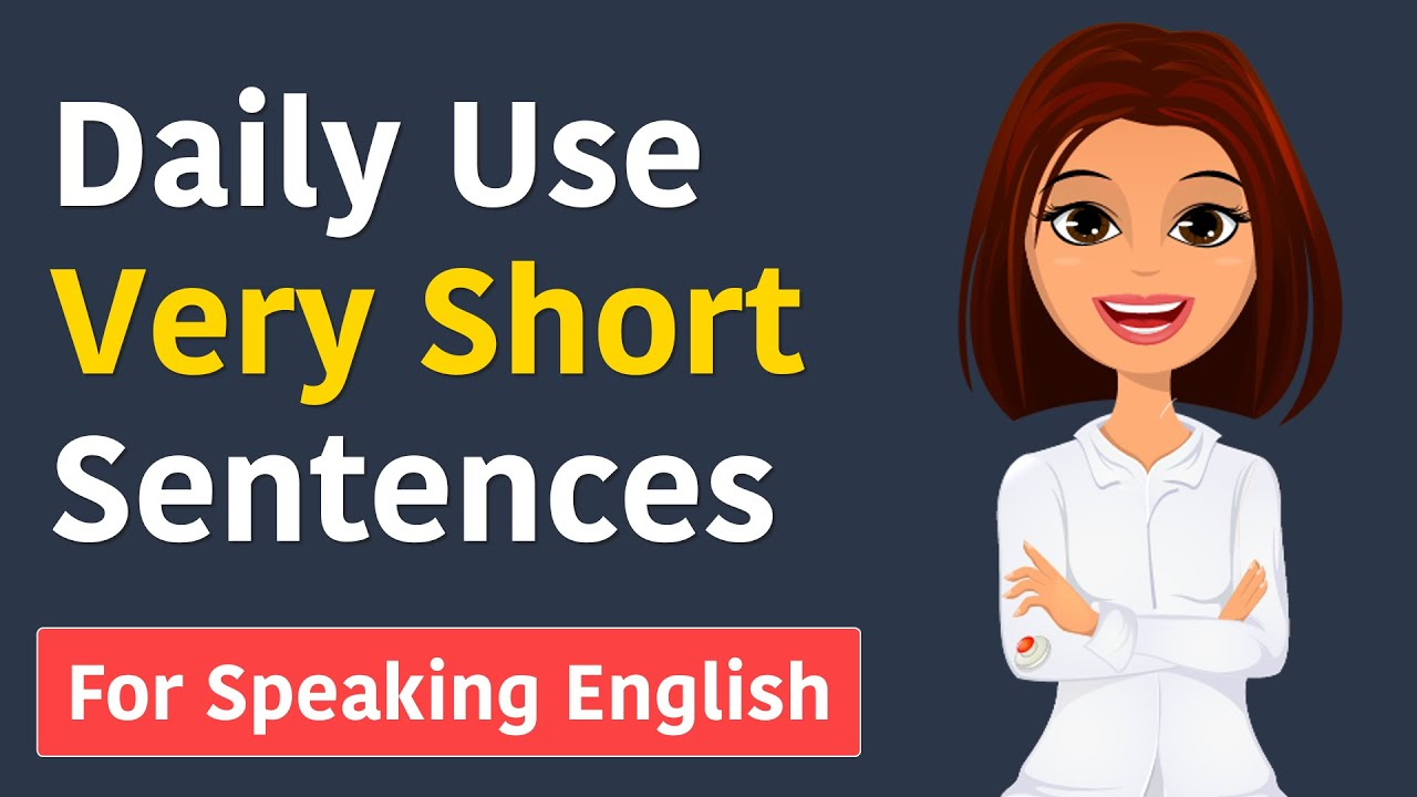 Learn 50 Daily Use English Sentences || Daily Use very short sentences for speaking English