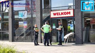 (VIDEO) 31-08-2015 Weer overval op Carpetright in Breda
