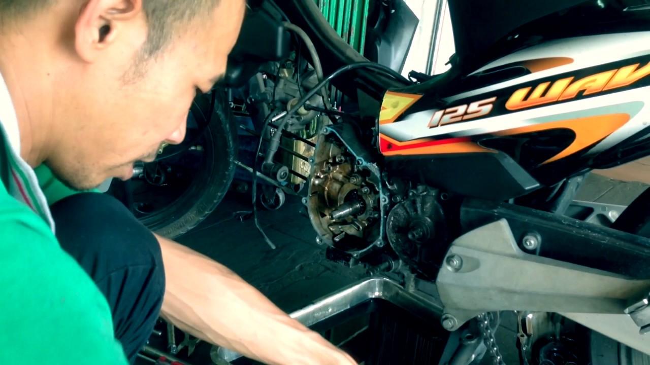 Overhaul Honda Wave 125R - Farhan Arsad