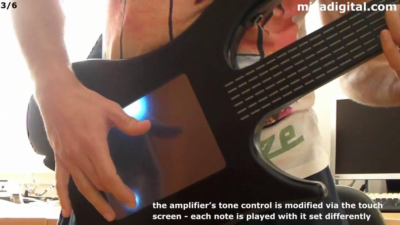 MORE Misa Digital Guitar - YouTube