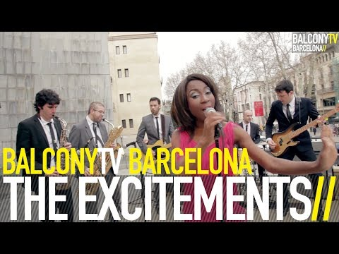 THE EXCITEMENTS - SOMETIMES TOO MUCH AIN'T ENOUGH (BalconyTV)