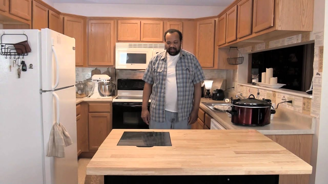 My kitchen set up youtube for Kitchen setup