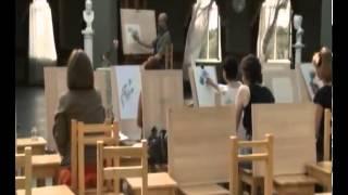 Уроки рисования с Сергеем Андриякой  Пионы в карандаше