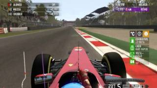 [F1 2011] Ferrari F150th Italia @Monza (Fernando Alonso - 3 Lap Race) [HD]