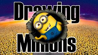 Dibujando a los Minions / Drawing Minions on Samsung Galaxy Tab A with S-Pen