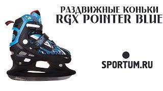 Раздвижные коньки RGX POINTER Blue