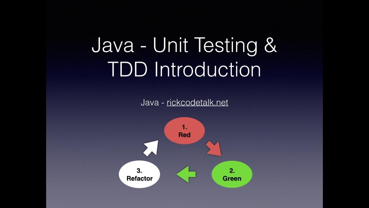 Java unit test test driven development java unit test test driven development baditri Images