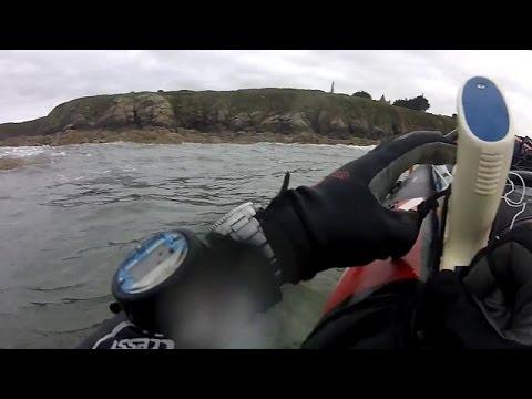 2014 08 29 Vidéo PNJ AEE SD23 Pêche sous marine Plage la Mare ST CAST LE GUILDO
