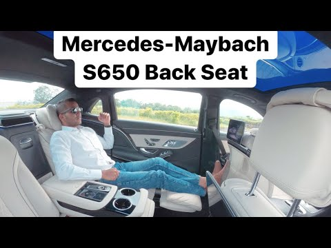 Mercedes-Maybach S650 - Back Seat Comfort Review (Hindi + English)