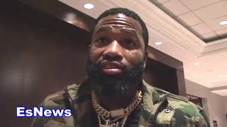 Adrien Broner Reveals Why There's Tension With Floyd Mayweather - EsNews Boxing