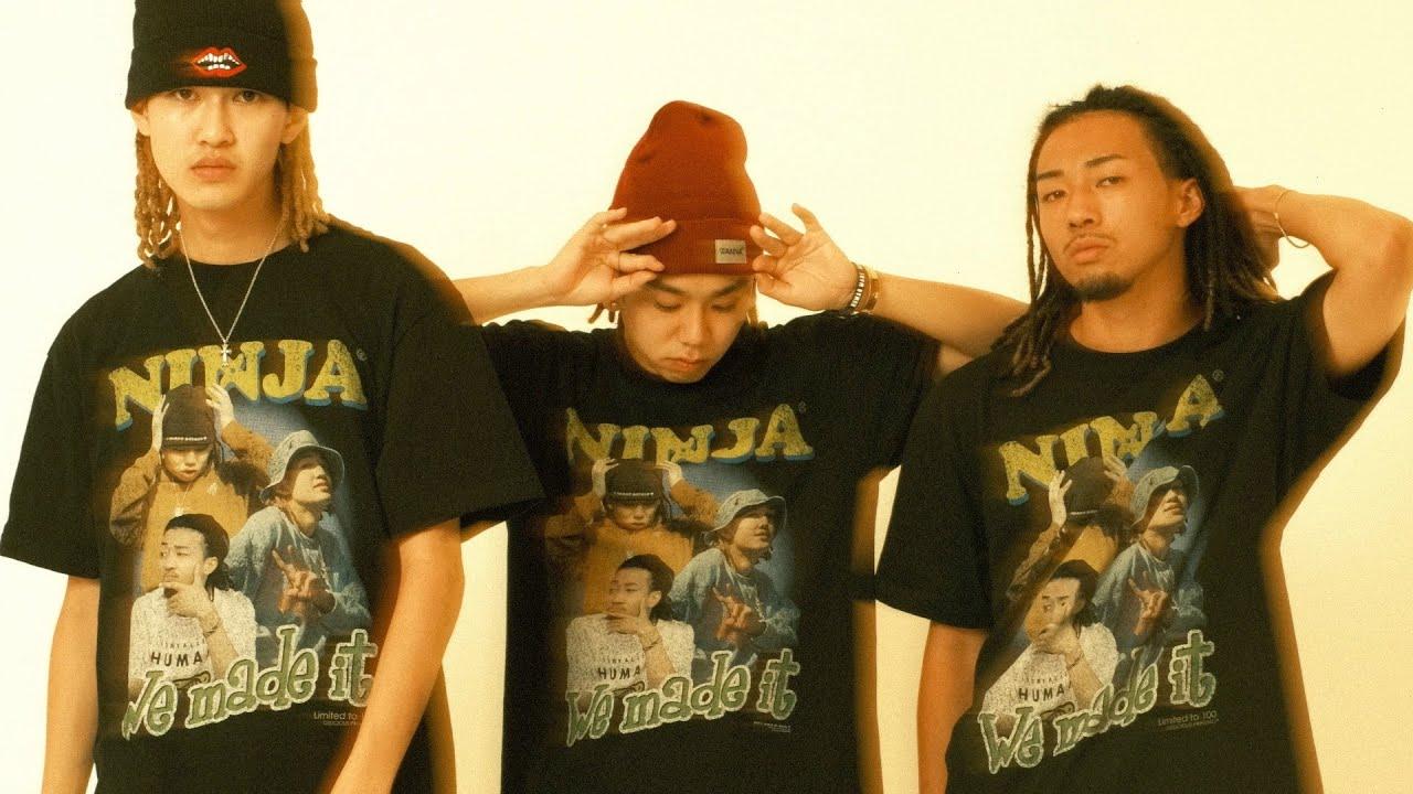 "Download 【Short Film】""Official Rap Tee"" Ninja We Made It."