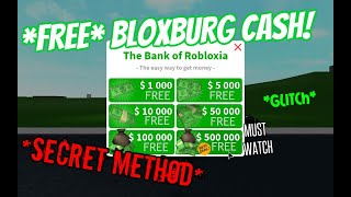 How to get FREE Bloxburg Money! *WOKRING* [Roblox]
