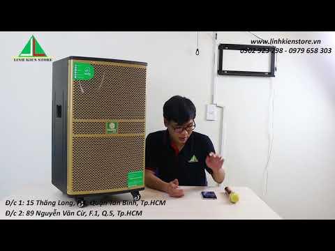 Review: Loa kẹo kéo Mantis ND 9409A   Dòng loa mới nhất, giá rẻ, công suất lớn của Mantis