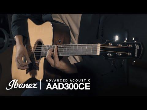 Ibanez AAD300CE-LGS Acoustic Guitar
