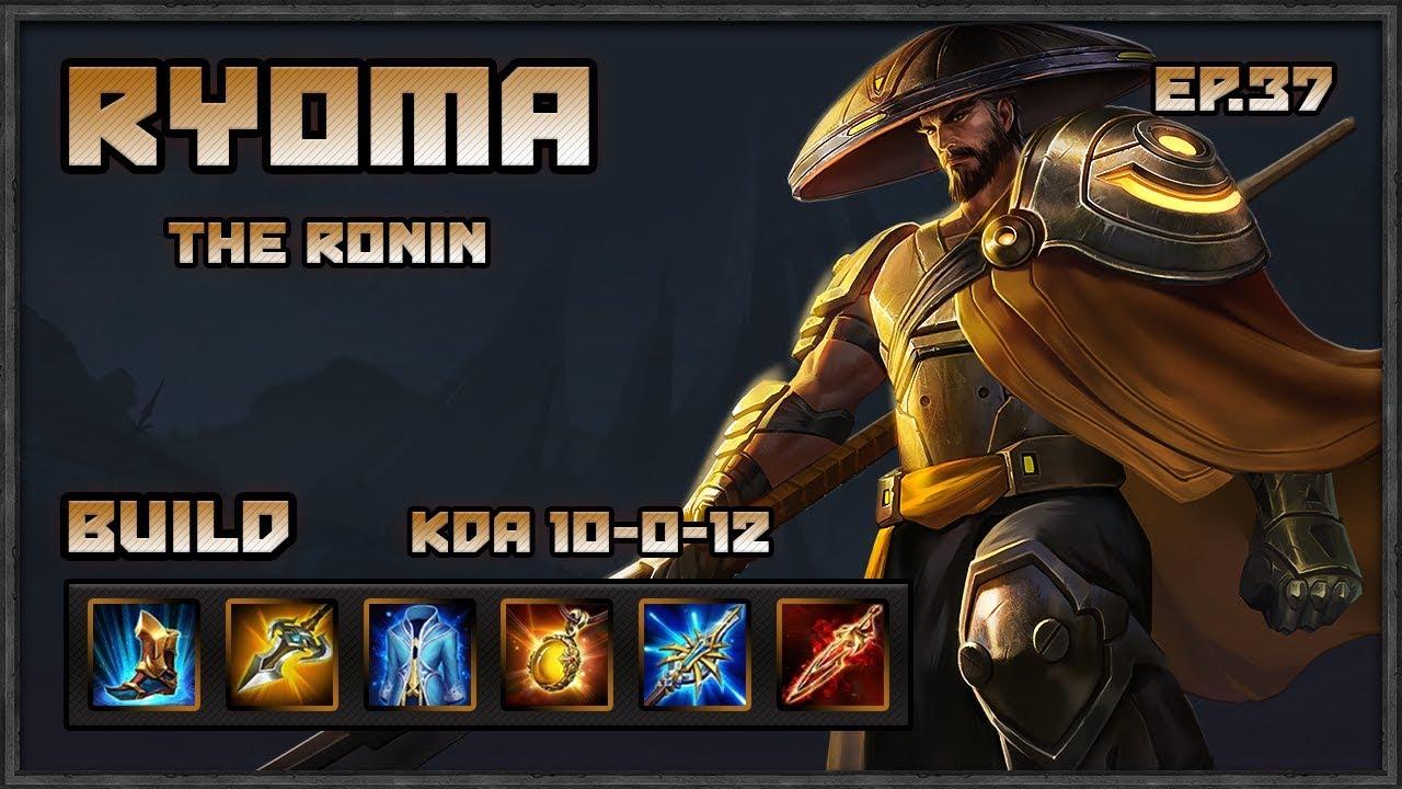 Arena Of Valor Ryoma Gameplay Ranked Comeback