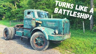 1957 Autocar Truck First Drive in 16 Years!!! Is it road worthy??