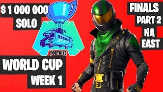 Fortnite World Cup WEEK 1 FINAL Part 2 Highlights - NA East Solo Day 2 [Fortnite Tournament 2019]