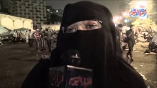 اخوانية مش هنسكت وكلنا قاعدين لحد ماترجع الشرعية