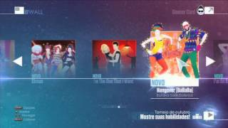 Just Dance 2016 - Menu Playstation 3/Xbox 360/Wii