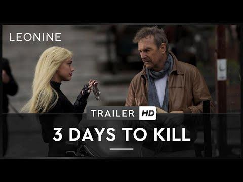 3 Days To Kill - Trailer (deutsch/german)