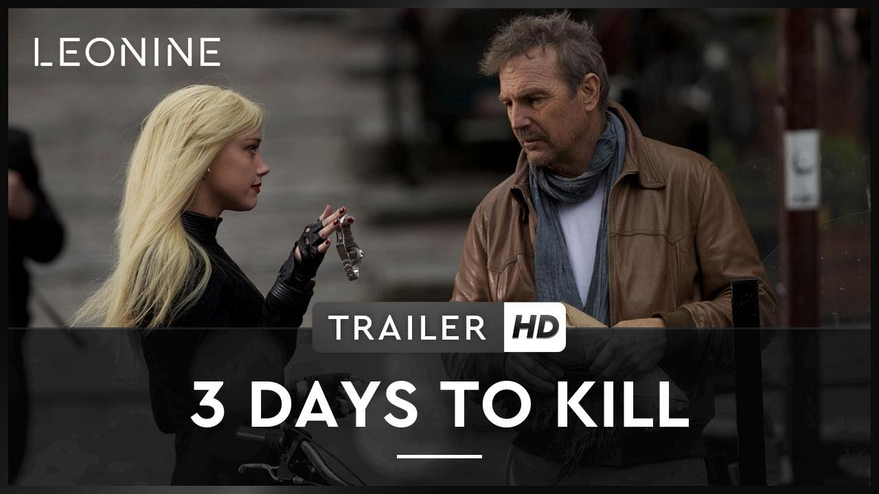 3 Days To Kill Trailer Deutsch German Youtube
