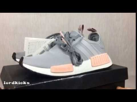best website df7a6 bf91c Adidas NMD R1 Womens Offspring Clear Onix by3058