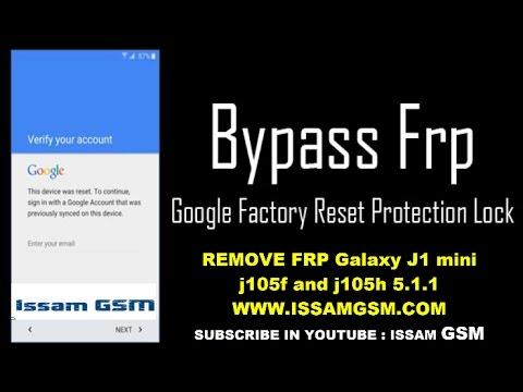 SAMSUNG J105f HOW BYPASS GOOGLE ACCOUNT Galaxy J1 Mini REMOVE FRP Android Lolipop 5.1.1