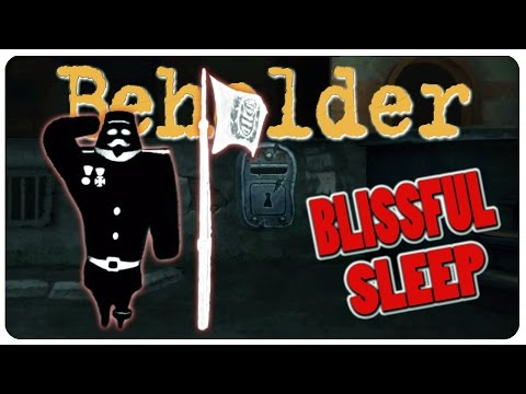 Beholder: Blissful Sleep - Glory to The Ministry! Euthanasia Please? | Beholder Gameplay DLC